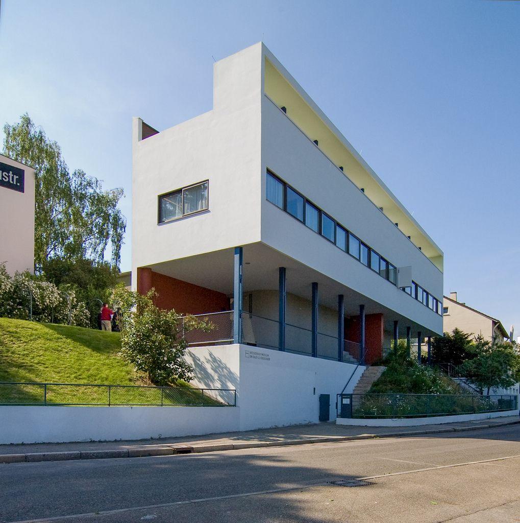 Casa le corbusier la casa de le corbusier weissenhof en for Villas weissenhofsiedlung
