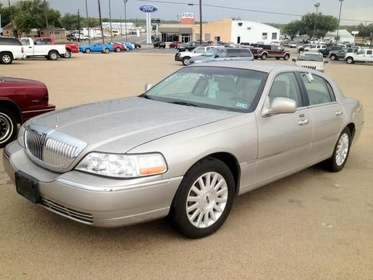3916 2003 Town Car Signature For Sale In Texas Cheap Cars For