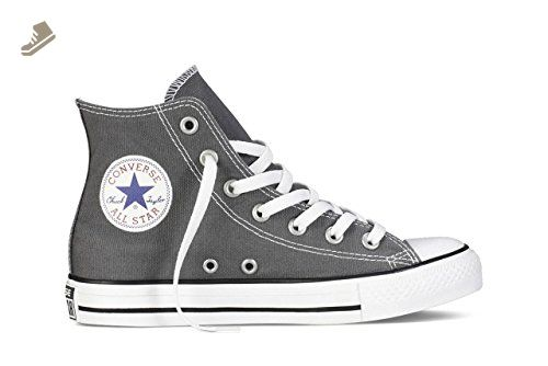 Converse Chuck Taylor Hi Women's Shoes Size 8 Charcoal ...