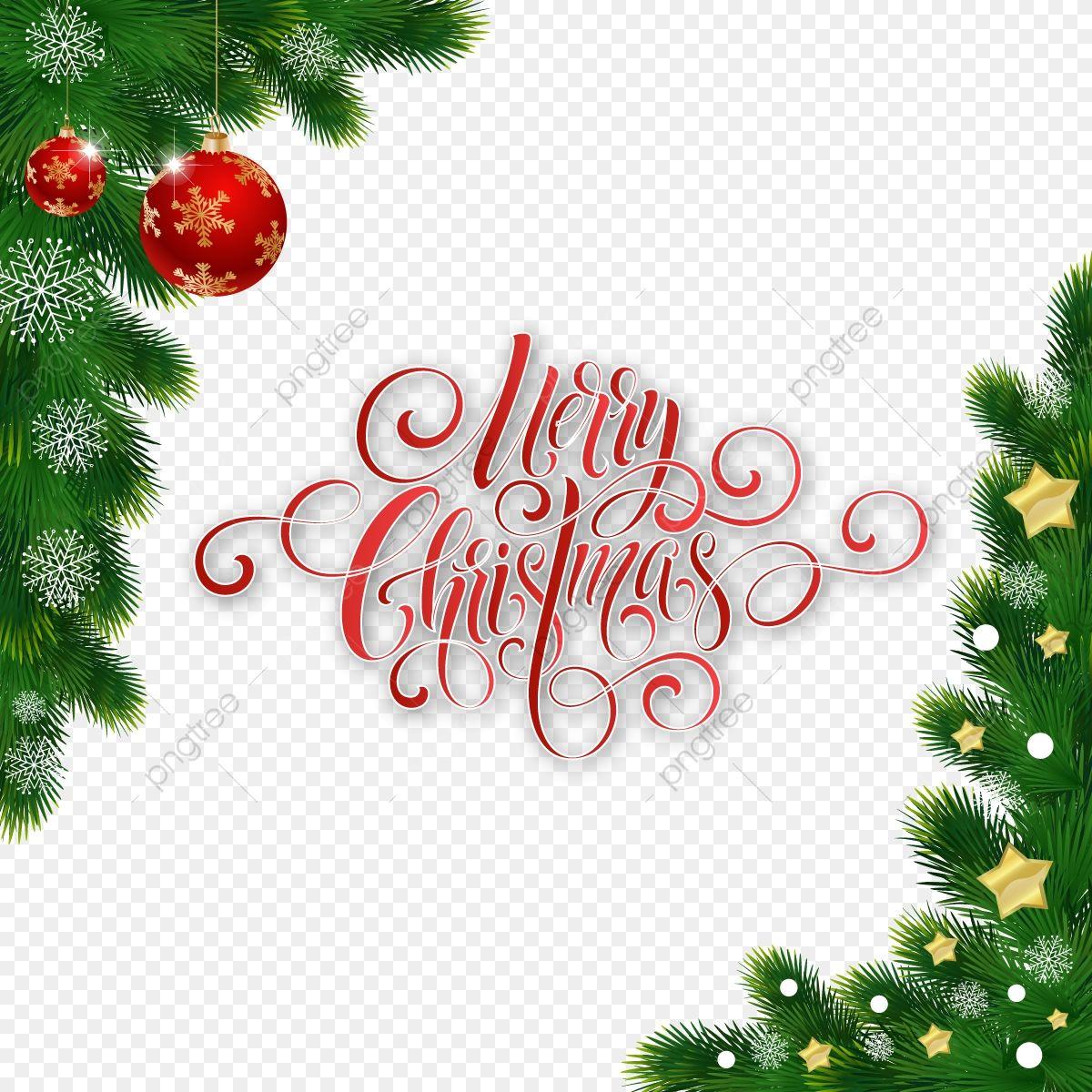 Decoração De Natal Com Decoração De Caligrafia Feliz Natal ...