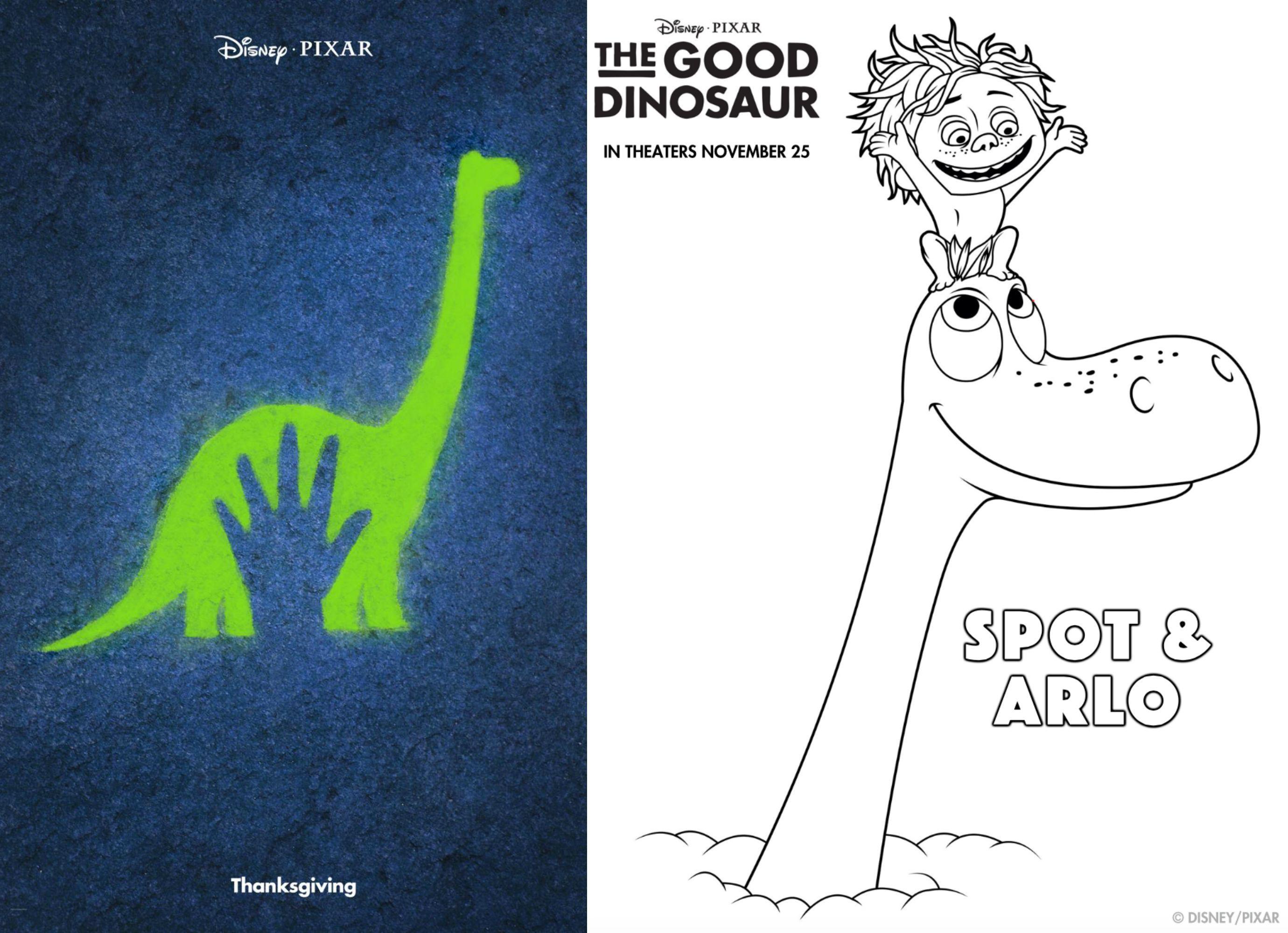 Figuras para colorear gratis de Un Gran Dinosaurio | Figuras para ...
