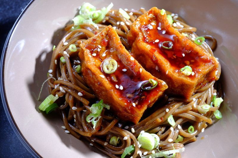sous vide chili garlic tofu recipe pinterest sous vide tofu