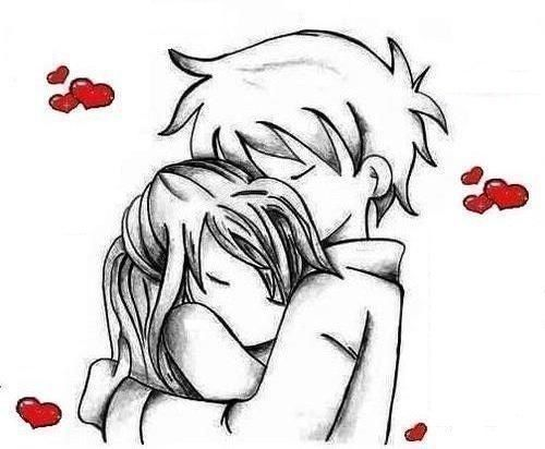 relationship cute draws