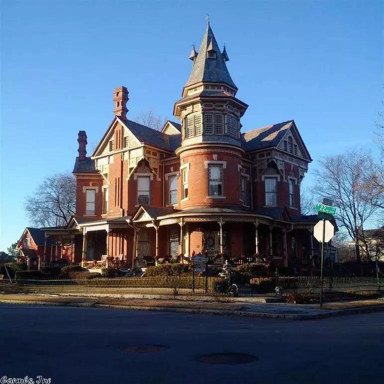 1888 Hornibrook Mansion In Little Rock Arkansas