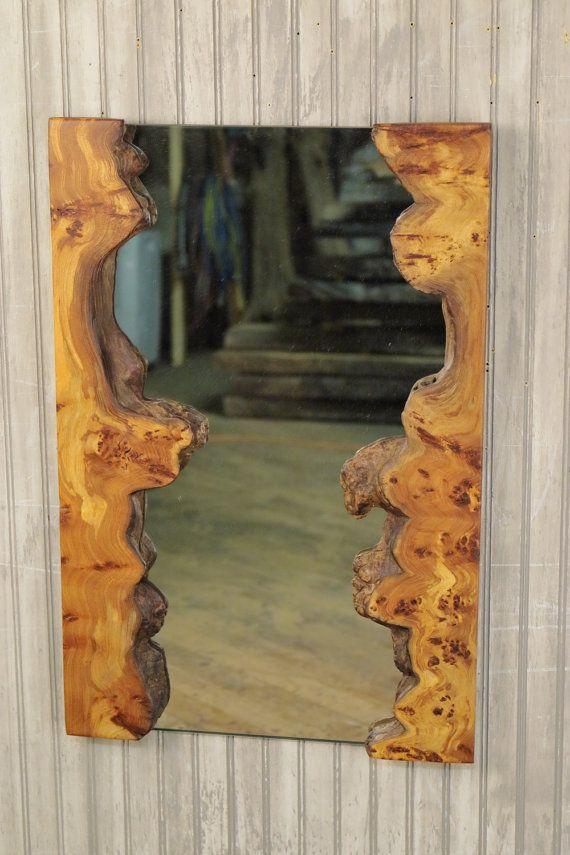 Rustic Burl Wood Bedroom Furniture