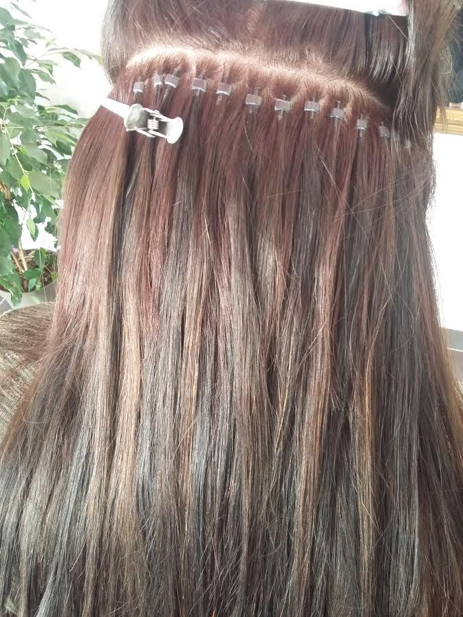 Extensions cheveux keratine a froid