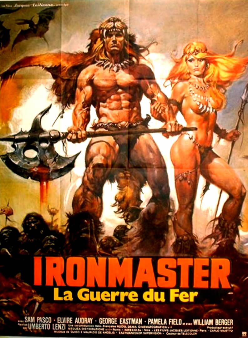 "Ironmaster (1983) ""La guerra del ferro: Ironmaster"" (original title) Stars:  Sam Pasco, Elvire Audray, George Eastman ~ Director: Umberto Lenzi"