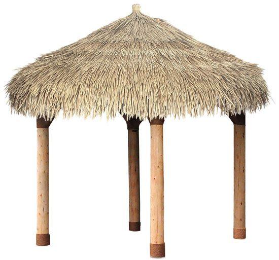 Chaume synthétique / chaume bambou jardin gazebo / / tiki huttes ...