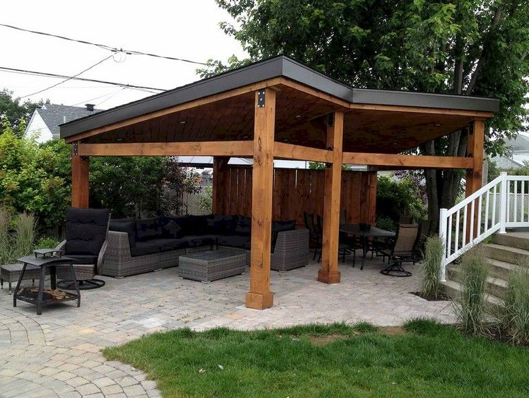 67 Nice Gazebo Backyard Garden Landscaping Design Ideas Modern