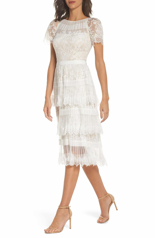 Tadashi Shoji Nixie Tea Length Lace Dress Nordstrom Lace Tea Length Dress Tadashi Dress Lace Dress [ 3000 x 1956 Pixel ]