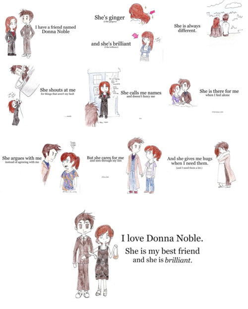Donna Noble I loved her and I miss her so much