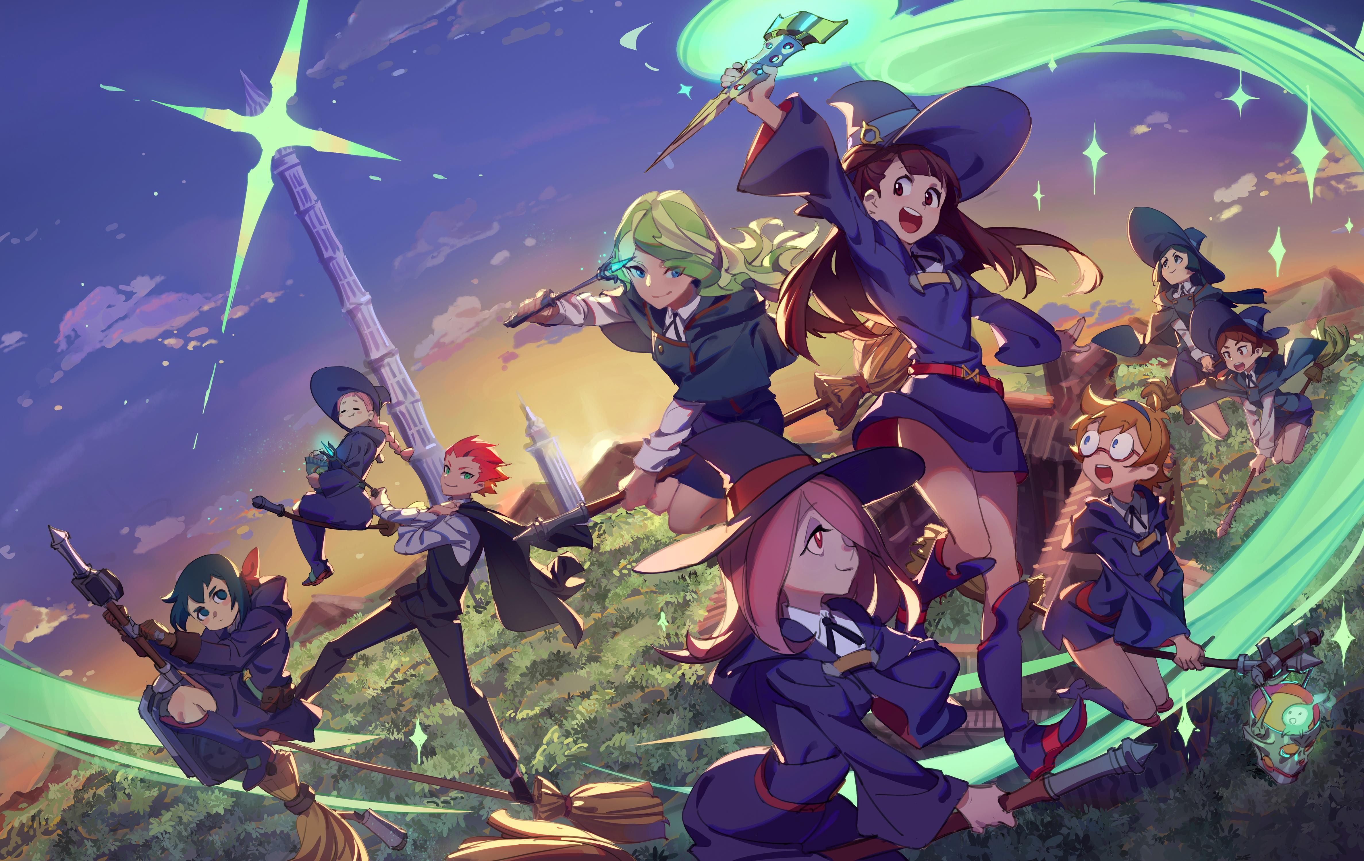 Little Witch Academia Custom Silk Poster Wall Decor