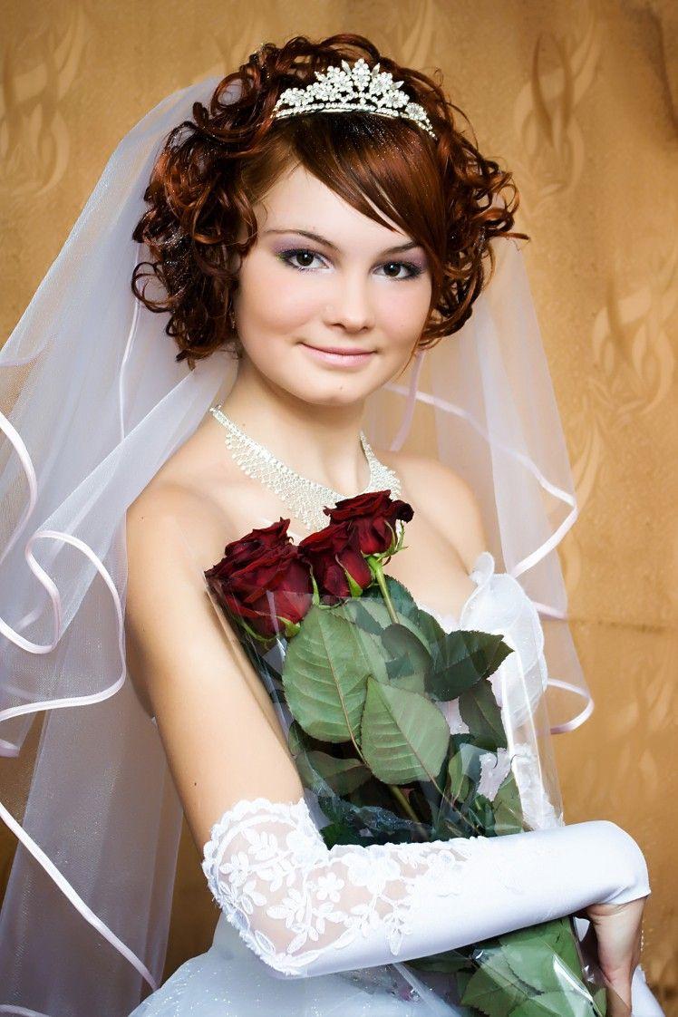 Brautfrisur diadem locken