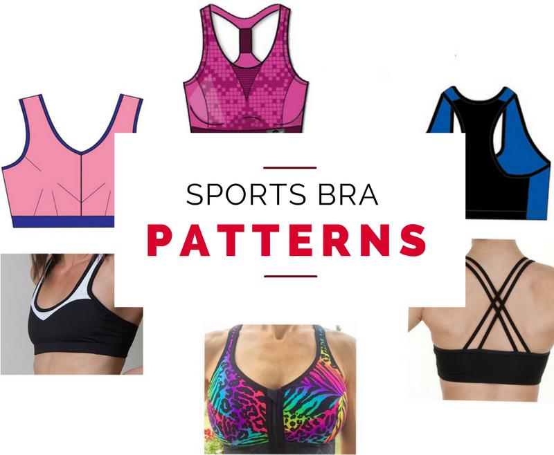 Sports bra sewing patterns (Last Stitch)