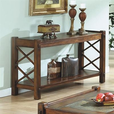 Sofa Tables · Monarch Specialties I 7826S Console Table With Slate Top ...