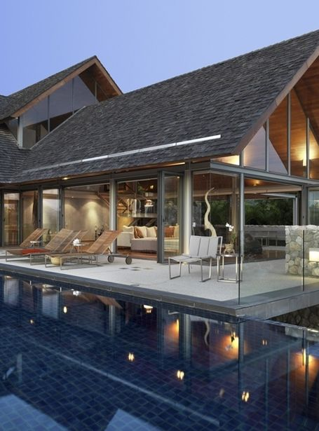 World of Architecture: Villa With Contemporary Asian Design ...