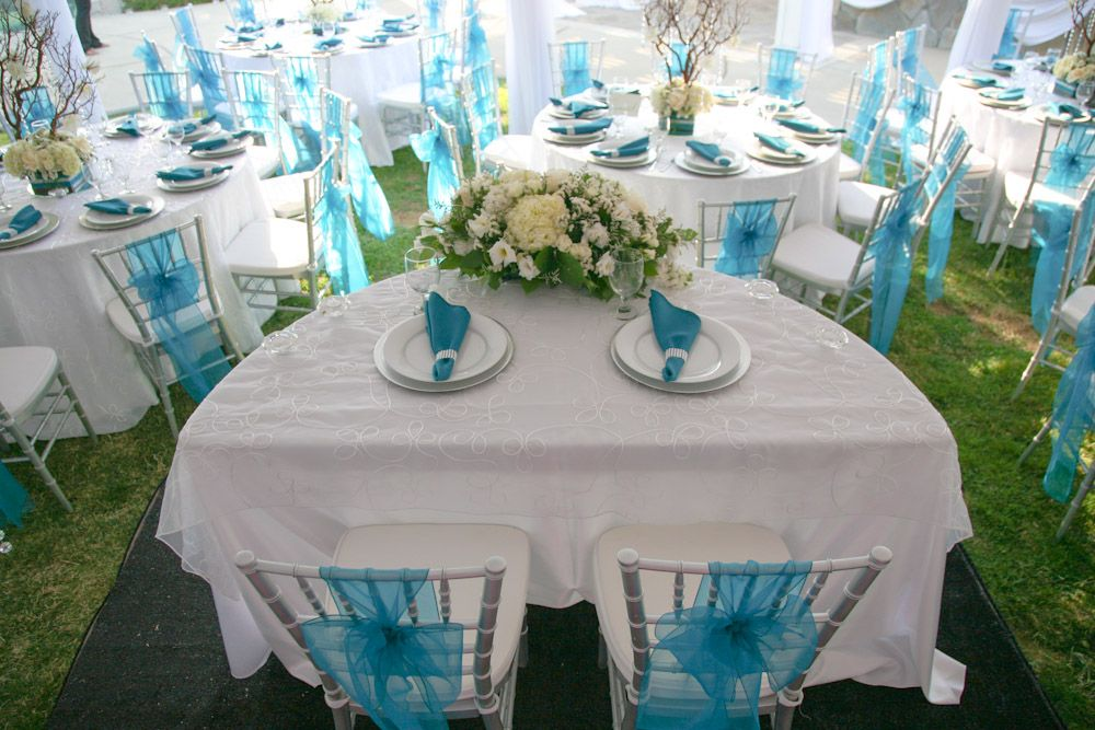 Aqua And Silver Wedding Theme | Southwestern Silver And Turquoise Wedding  Soiree