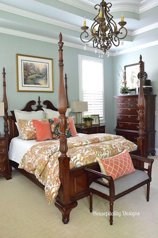 Master bedroom felicity bedding pottery barn housepitality - Pottery barn master bedroom ideas ...