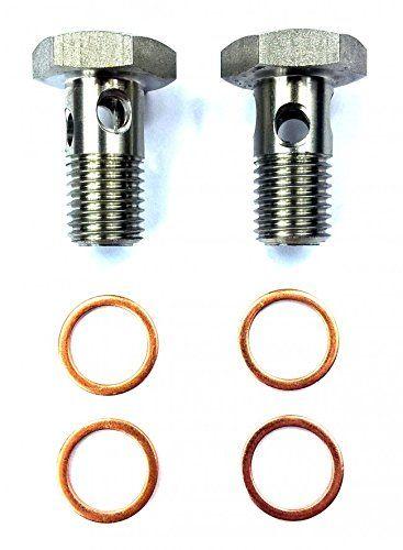Tear Drop Design TamerX Diesel Fuel Banjo Bolt Ultra High Flow Upgrade for Ford Powerstroke 6.0L /& 6.4L