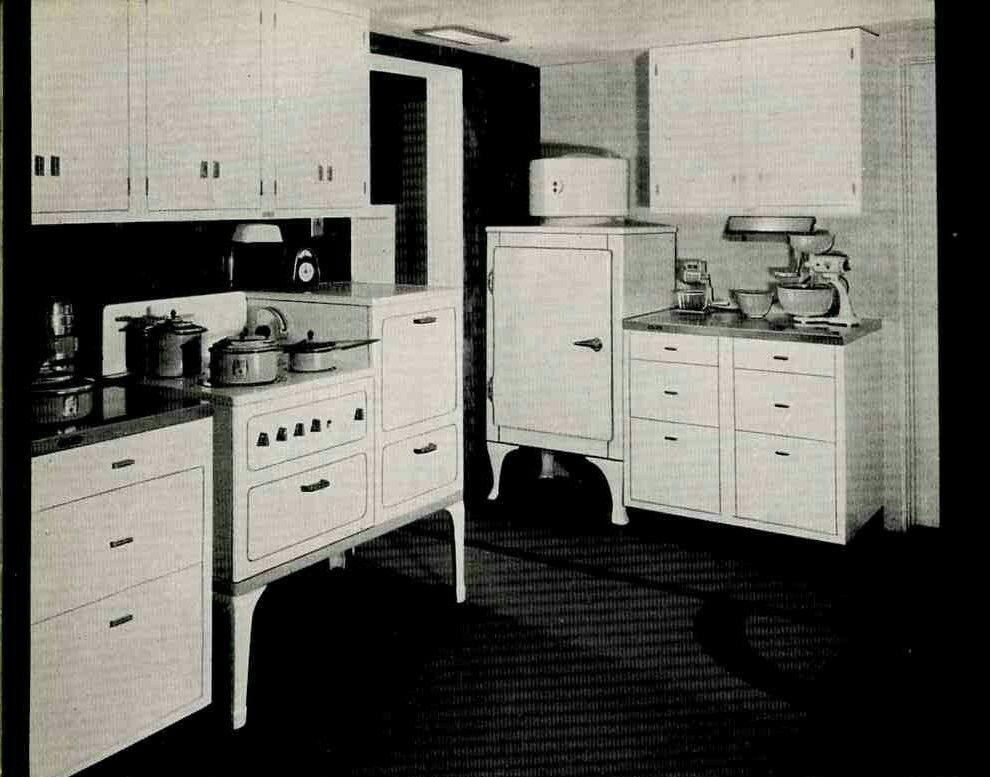 Idea by Jill Wait on 1930s   Retro renovation, Metal ...