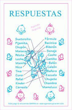Juegos Para Baby Shower Buscar Con Google Monse Pinterest