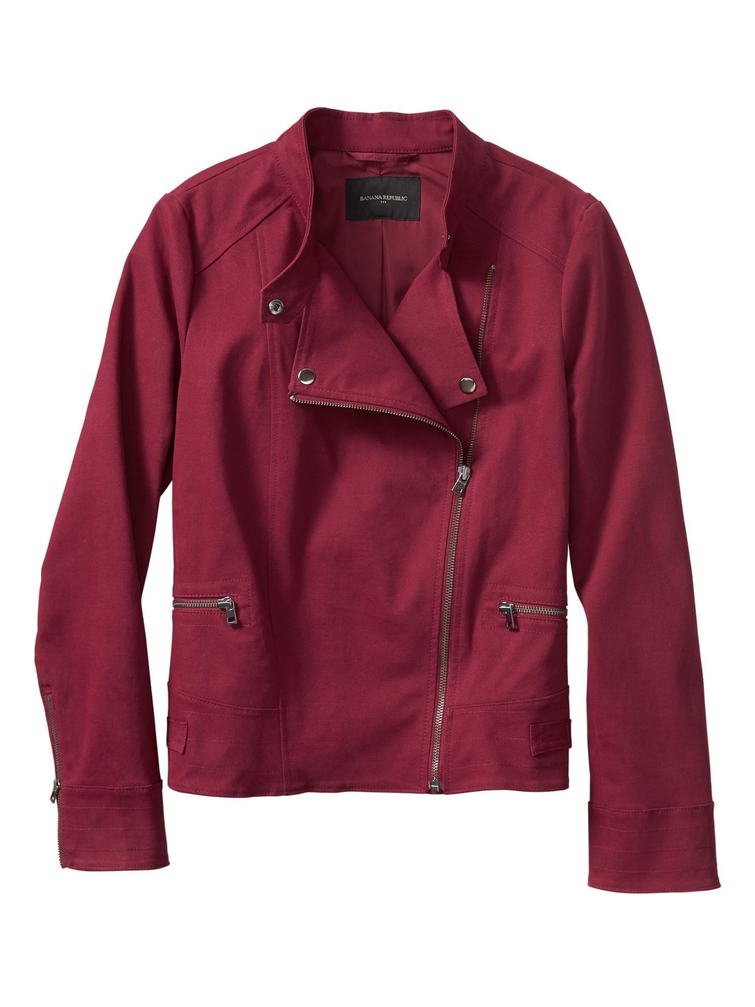 Moto Jacket.Interesting color. Colorful shirts