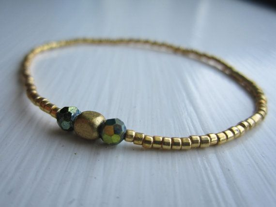 Little girls Gold Bracelet by EvieStarBoutique on Etsy, $3.99
