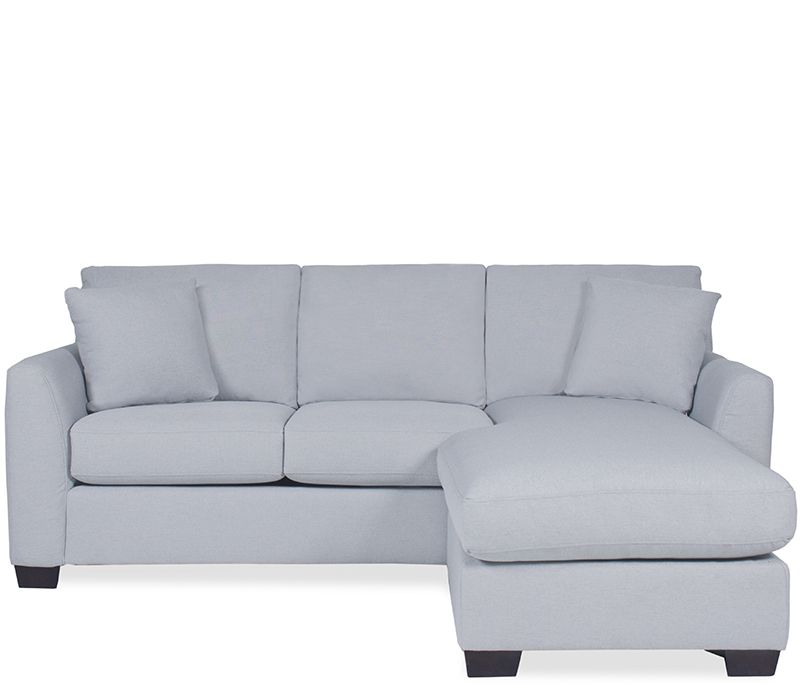 Groovy Bryant Sofa And Chaise Blue Small Spaces Boston Bralicious Painted Fabric Chair Ideas Braliciousco