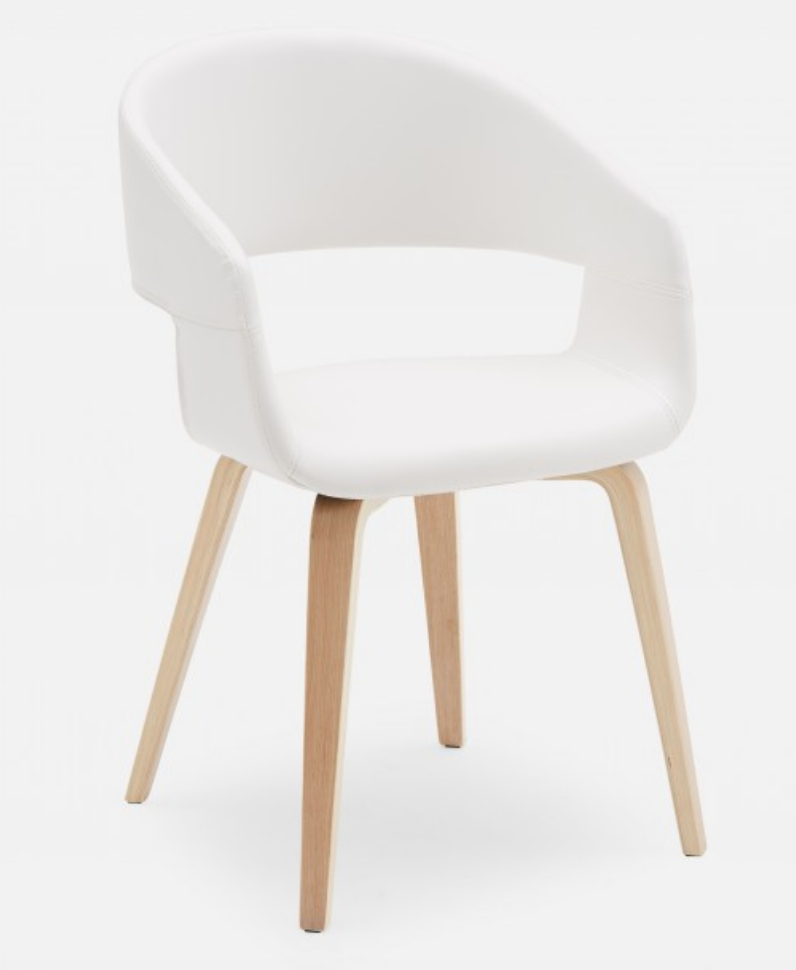 16 Budget Friendly Modern Dining Chairs, White Contemporary Dining Chairs
