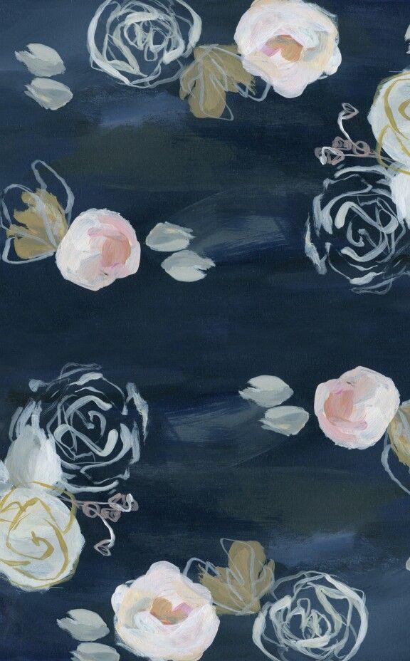 Design Love Fest Flower Wallpaper Blue Flower Wallpaper Flower Phone Wallpaper Blue floral wallpaper iphone