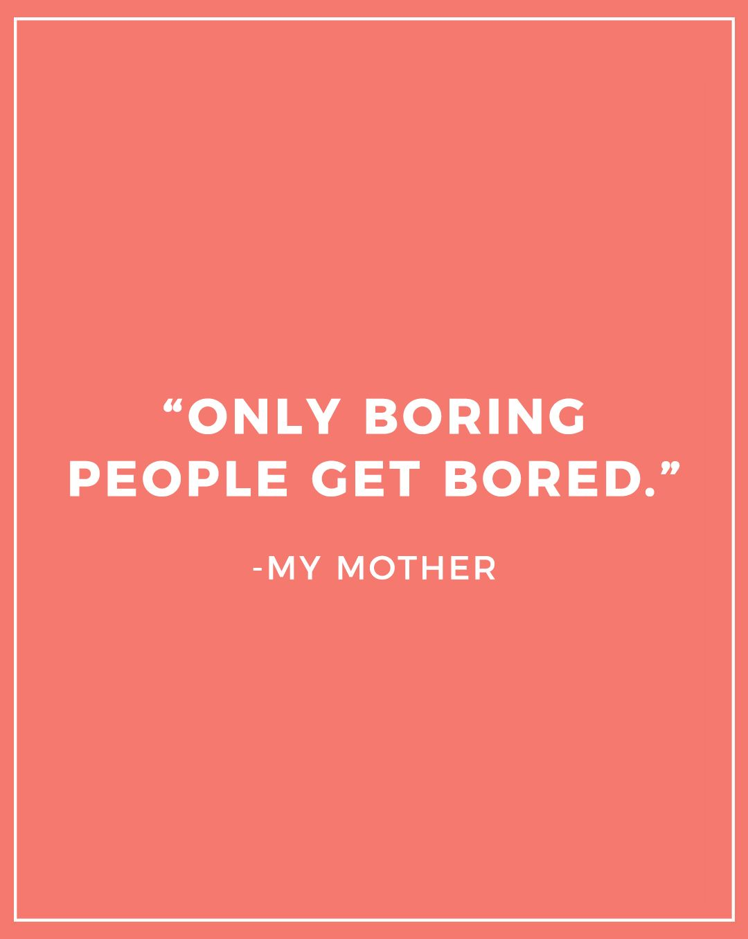 Natascha Snellman Creator Of Hey Babe Glitter And Bubbles Rad Mom Wisdom Quotes Parents Quotes Funny Boring People Quotes