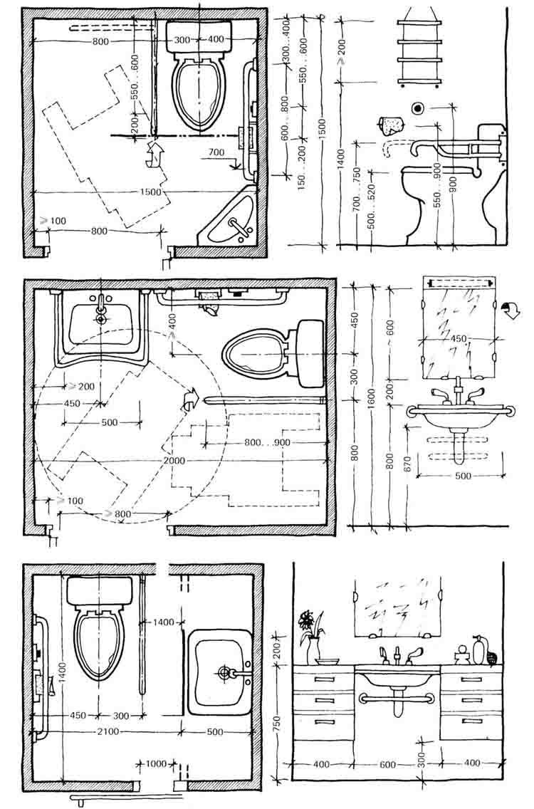 Toilets for disabled people tamaresque pinterest for Ada bathroom layout