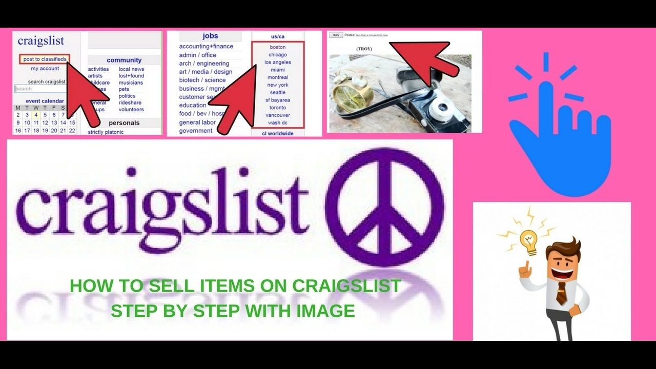 How To Sell Items On Craigslist Things To Sell Grammar Life