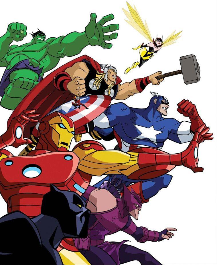 Os Vingadores Desenho Pesquisa Google Vingadores Personagens