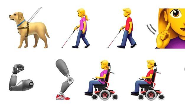 Apple crea nuevos emojis para concienciar sobre la discapacidad http://www.charlesmilander.com/news/2018/03/apple-crea-nuevos-emojis-para-concienciar-sobre-la-discapacidad/ De 0-100 mil seguidores como? clic http://amzn.to/2jLtsgB #nyc