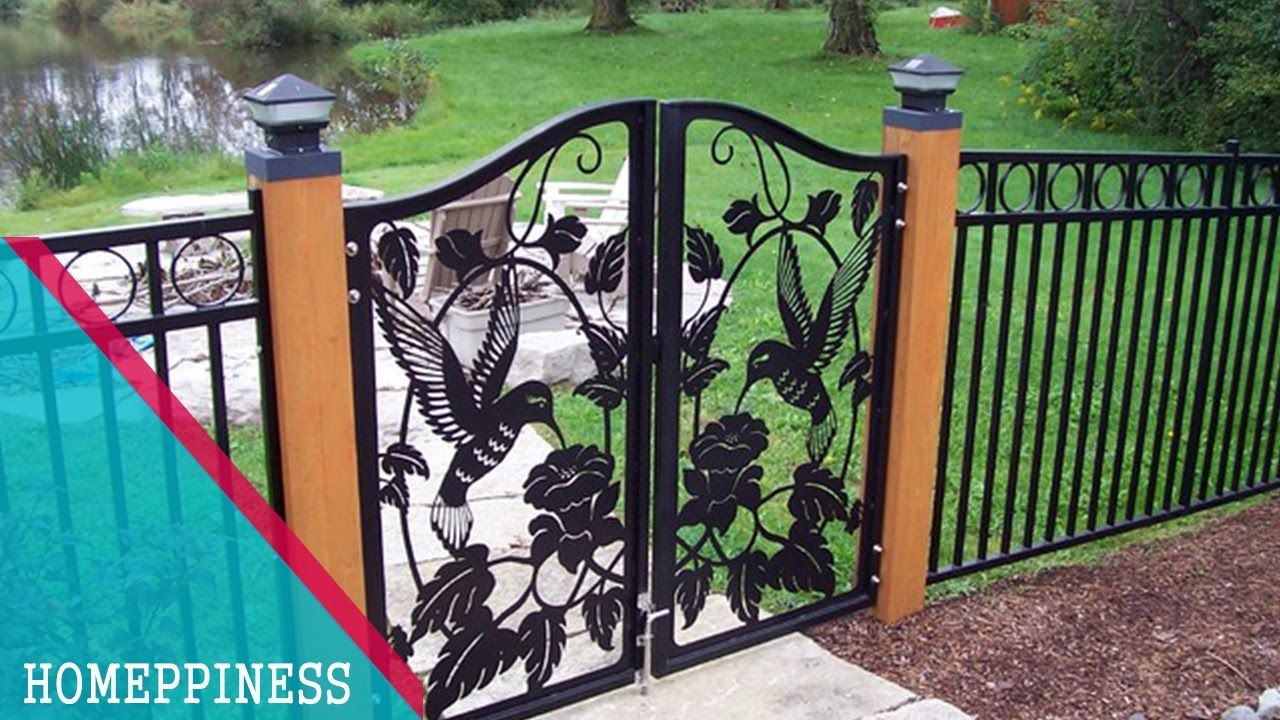 Incroyable (NEW DESIGN 2017) 30+ Modern Metal / Iron Fence Gates Ideas Metal Garden