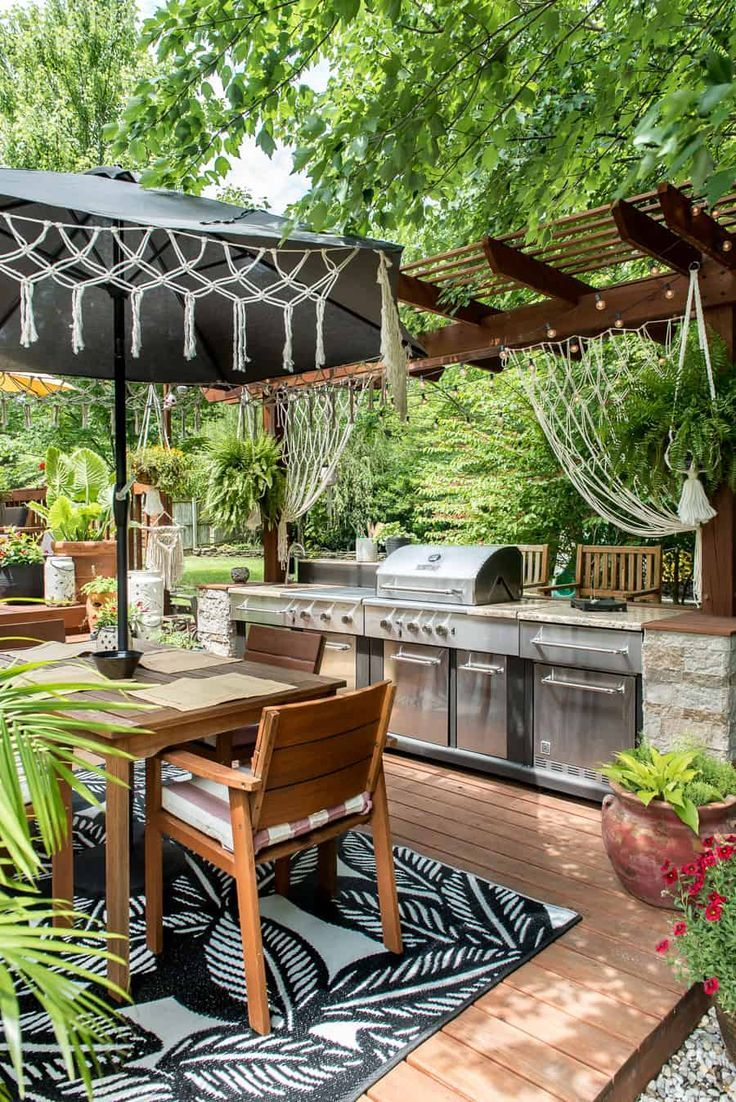 BOHO PATIO REFRESH - PLACE OF MY TASTE #backpatio