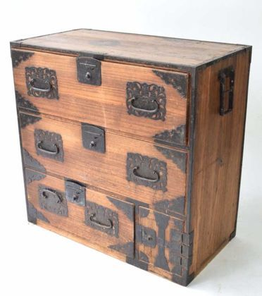 Find Bid On Japanese Tansu Chest Now For Sale At Auction