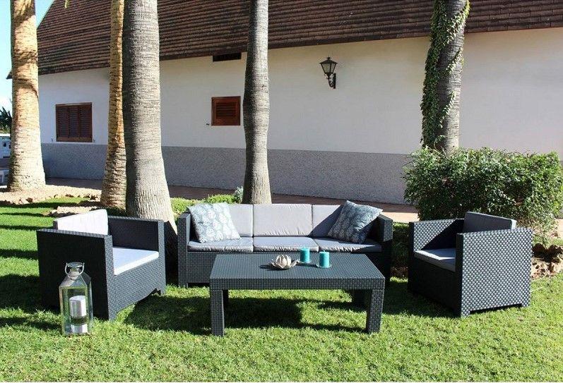 Tropea Salon de jardin 5 places Concept Usine | Agrément de ...