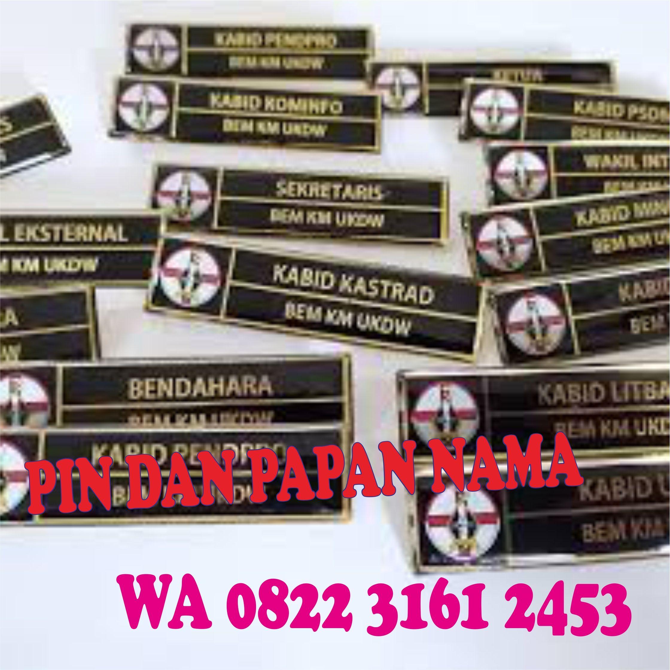 Pusat Wa 0822 3161 2453 Papan Nama Galvalum Rantau Prapat Produsen Pin Nama Jual Papan Nama Kebumen Nama Tengah