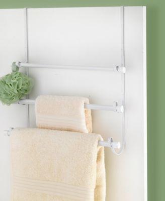Popular Bath Over The Door Towel Rack Bedding In 2020 Free Standing Towel Rack Towel Shower Rod