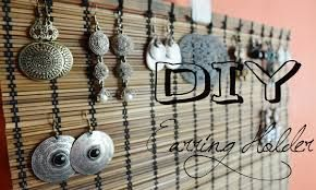 jewelry holder frame diy - Google Search