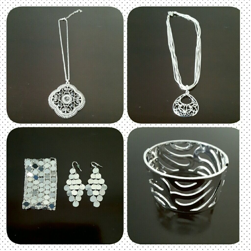 Sale modern silver statement jewelry products