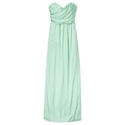 902b07bf3e7 Bridesmaids dresses from TARGET ! Inexpensive and get to chose from MANY  styles... cool mint color.