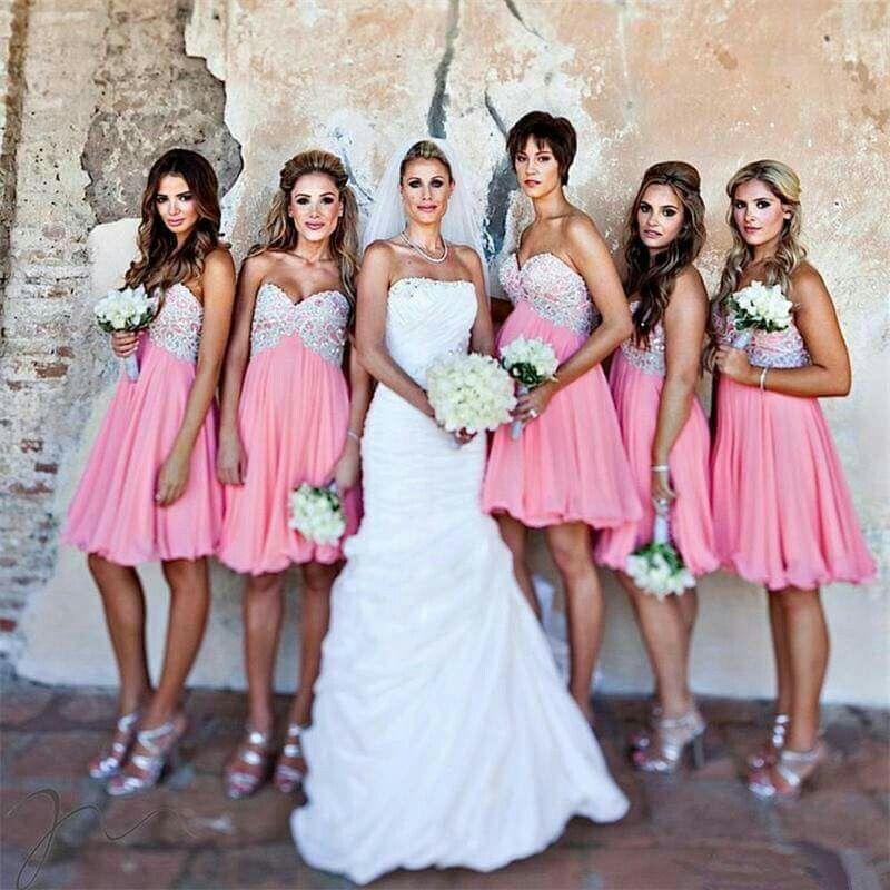 Pin de rocio Estrada en bodas damas de honor | Pinterest | Damitas ...