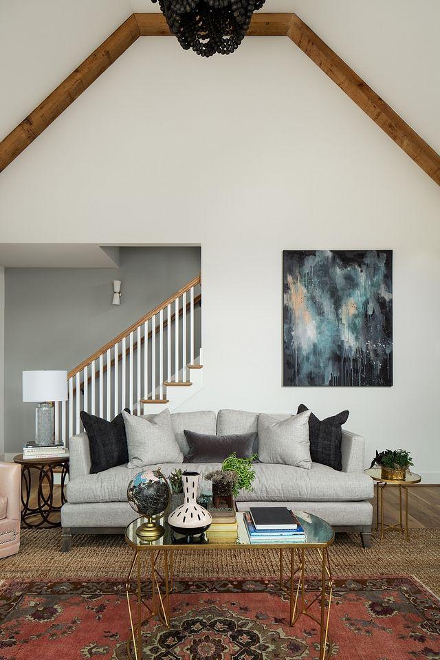 living room walls: Sherwin Williams SW 7551 Greek Villa ...