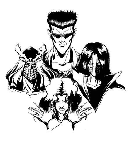 March Of The Toguro Team Black White Is Now Live And Rockin