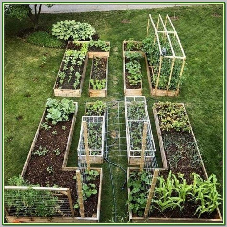 32 erstaunliche Gartenbetten Ideen 32 - Stylekleidung.com #patioandgardenideas