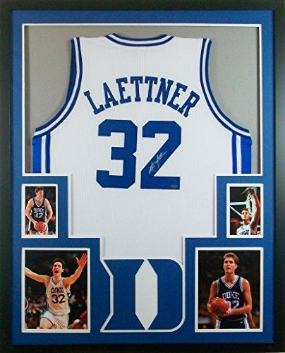 free shipping e5c27 e968b Pin by Mister Mancave on Basketball Framed Jerseys | Duke ...