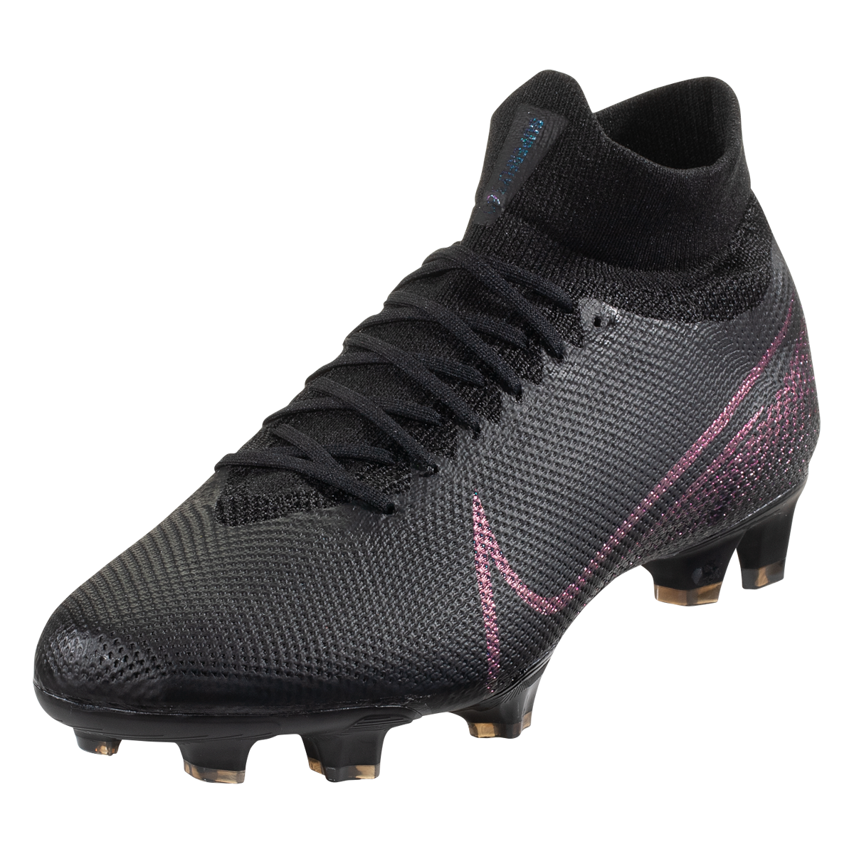 Nike Mercurial Superfly 7 Pro Fg Soccer Cleat Black Black 4 5 In 2020 Soccer Cleats Nike Soccer Cleats Womens Soccer Cleats